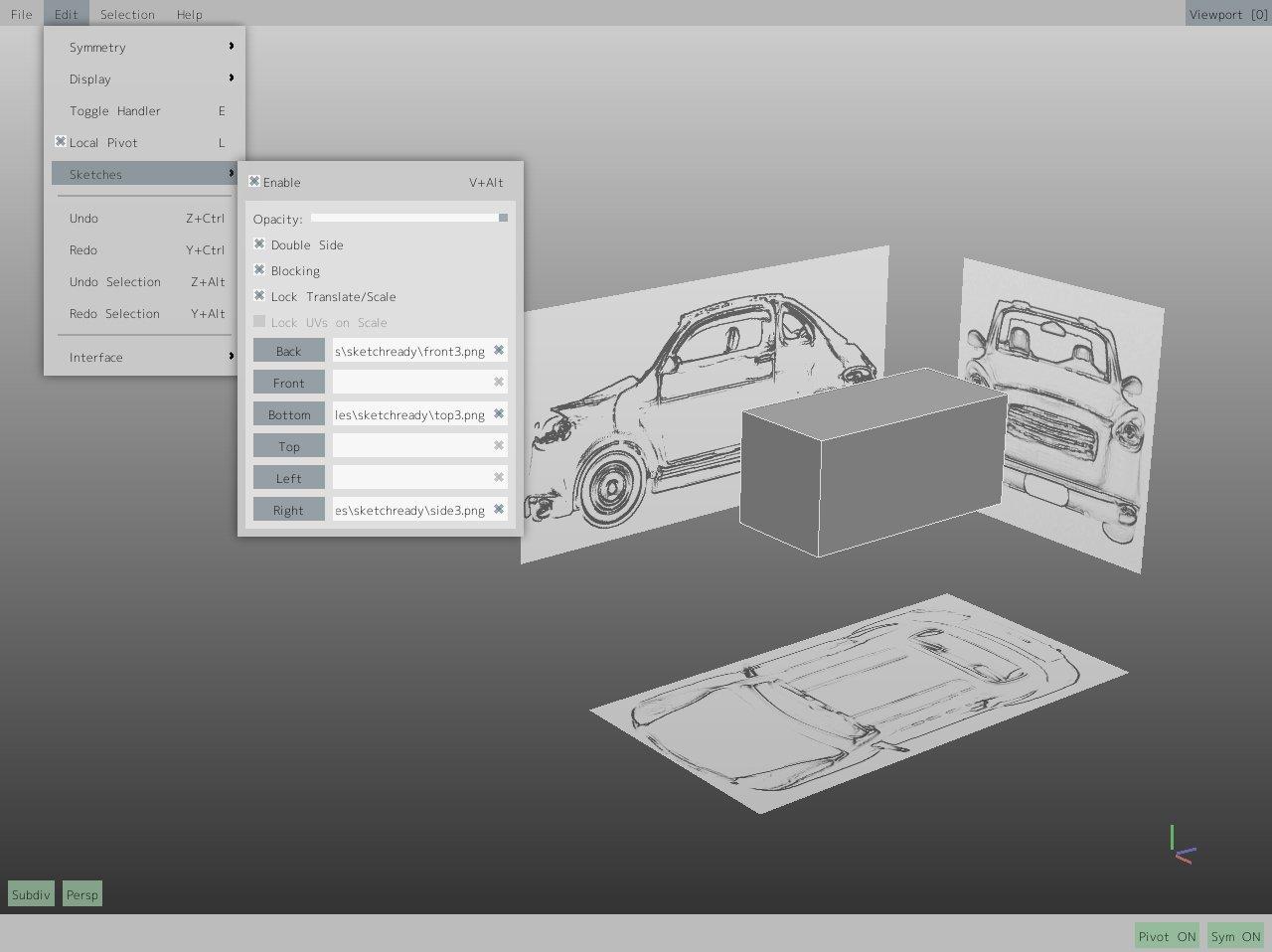 sketches-car